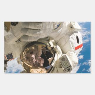 Piers Seller Spacewalk Rectangular Sticker