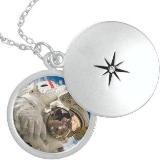 Piers Seller Spacewalk Round Locket Necklace