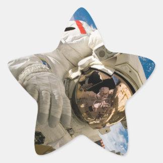 Piers Seller Spacewalk Star Sticker