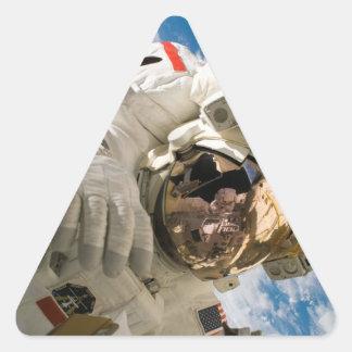 Piers Seller Spacewalk Triangle Sticker