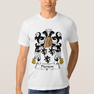 Pierson Family Crest Tee Shirt