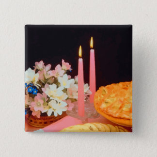 Pies And Candles Elegance Button