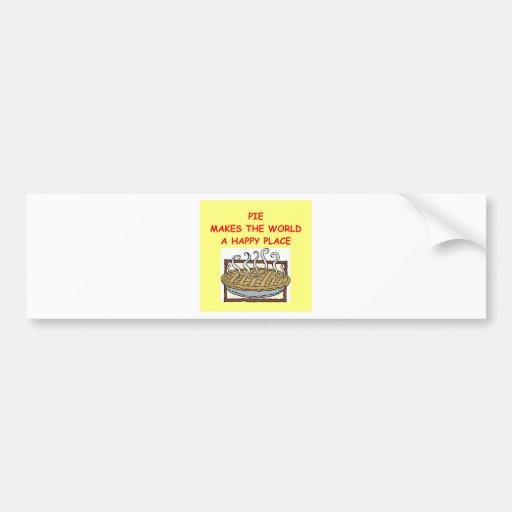 pies bumper stickers