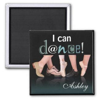 Pies - coreógrafo bailarín instructor del bail imán para frigorífico