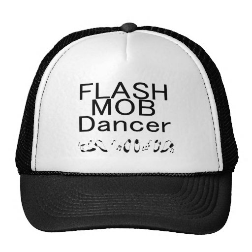 Pies de baile del bailarín de destello de la multi gorras de camionero