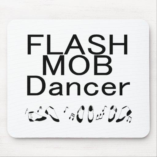 Pies de baile del bailarín de destello de la multi alfombrillas de ratones