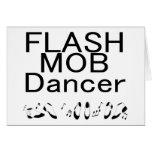 Pies de baile del bailarín de destello de la multi tarjetas