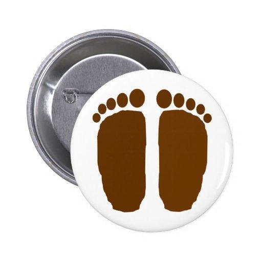 ¡Pies de Bigfoot! Pin