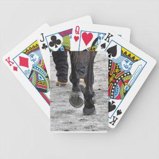 Pies de la flota baraja de cartas