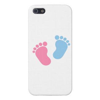 Pies del bebé iPhone 5 fundas