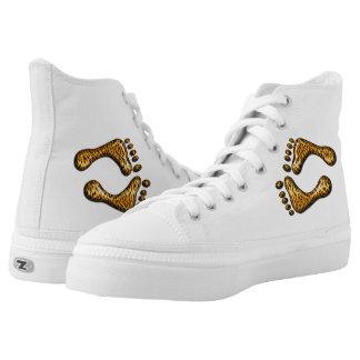 Pies del tigre zapatillas