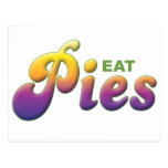 Pies, Eat Post Card
