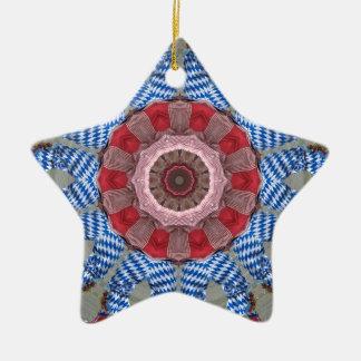 Pies en el aire, diseño de la danza de Morris Adorno Navideño De Cerámica En Forma De Estrella