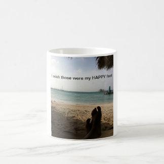 Pies felices taza