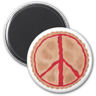 Pies for peace, cherry peace pie magnets