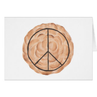 Pies for Peace, meringue peace pie cards