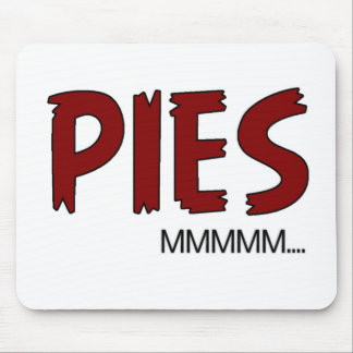 Pies Funny Quote Mouse Pad