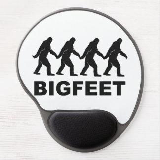 Pies grandes de Bigfoot Alfombrilla De Raton Con Gel