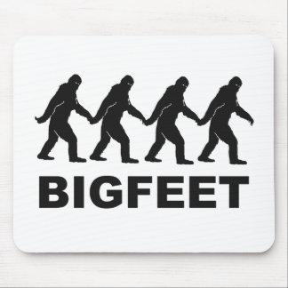 Pies grandes de Bigfoot Mousepads