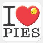 Pies Love Sticker