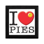 Pies Love Trinket Boxes