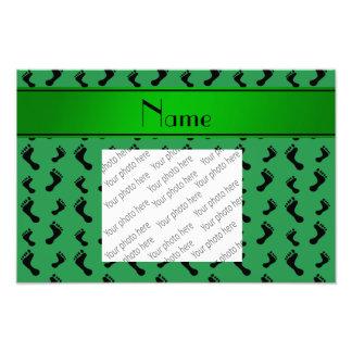 Pies verdes conocidos personalizados impresiones fotograficas