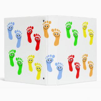 """Pies verdes felices, pies rojos felices, amarillo  carpeta 1"""""""
