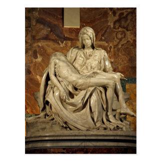 ¿Piet de Miguel Ángel sumario? La basílica de San  Tarjeta Postal