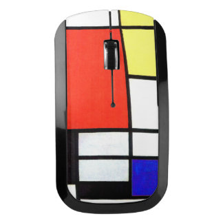 Piet Mondriaan and 1926 Composition Wireless Mouse