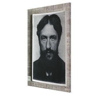Piet Mondrian (1872-1944), c.1910 (b/w photo) Canvas Print