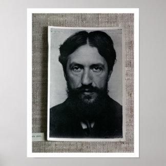 Piet Mondrian (1872-1944), c.1910 (b/w photo) Poster