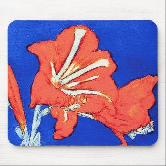 Piet Mondrian - Amaryllis Flower Painting Mouse Pad