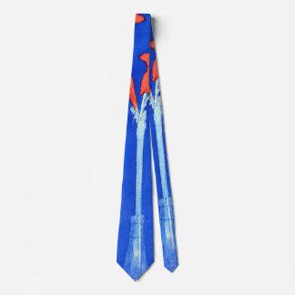 Piet Mondrian - Amaryllis Flower Painting Neck Tie
