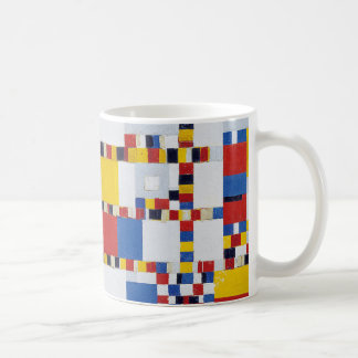 piet mondrian and victory.boogie-woogie coffee mug