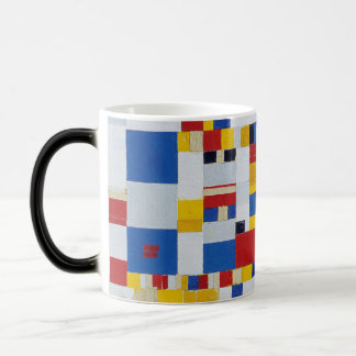 piet mondrian and victory.boogie-woogie magic mug