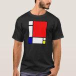 Piet Mondrian - arte neoplástico Playera