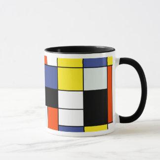 Piet Mondrian Composition A - Abstract Modern Art Mug