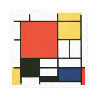 Piet Mondrian - Composition Canvas Print