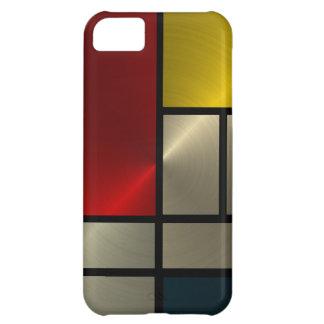 Piet Mondrian Composition (Goldl) iPhone 5C Case