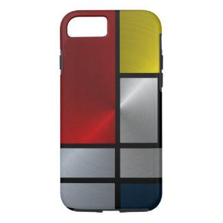 Piet Mondrian Composition (Steel) iPhone 8/7 Case