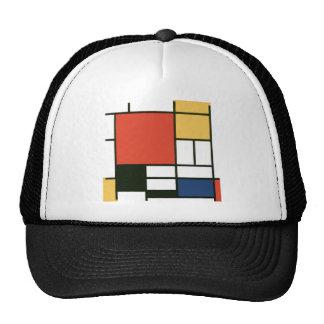 Piet Mondrian - Composition Trucker Hat