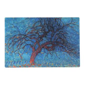 Piet Mondrian, igualando: Árbol rojo Salvamanteles