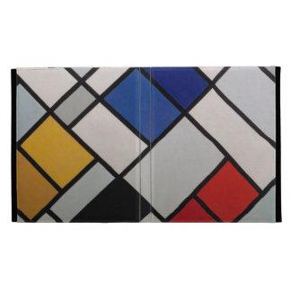 Piet Mondrian Modern Art iPad Folio Case