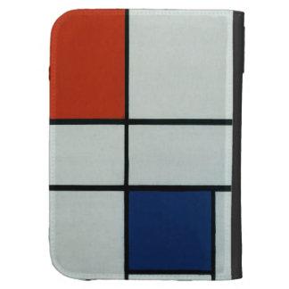 Piet Mondrian Modern Art Kindle 3 Cases