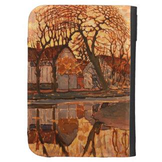 Piet Mondrian Modern Art Kindle 3G Cover