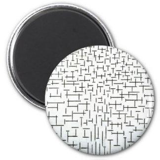 Piet Mondrian Modern Art Refrigerator Magnets