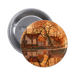 Piet Mondrian Modern Art Pin
