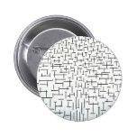 Piet Mondrian Modern Art Pins