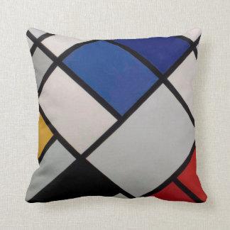 Piet Mondrian Modern Art Throw Pillow