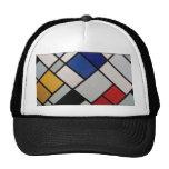 Piet Mondrian Modern Art Trucker Hat